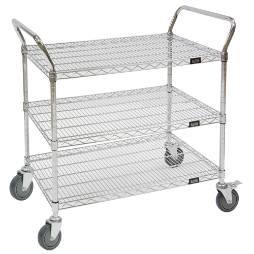Wire Mesh Utility Cart MJ543 | Ontario Safety Product
