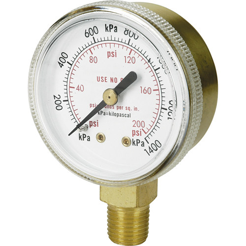 Brass Gauges NT624 | Ontario Safety Product