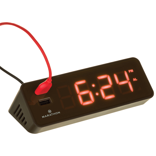 LED Alarm Clock OP601 | Ontario Safety Product