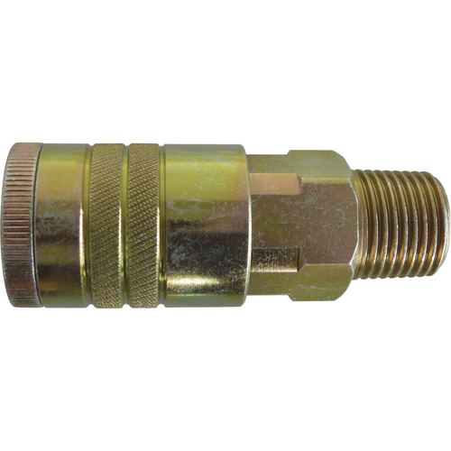 "Quick Couplers - 1/2"" Industrial, One Way Shut-Off - Manual Couplers TZ180 