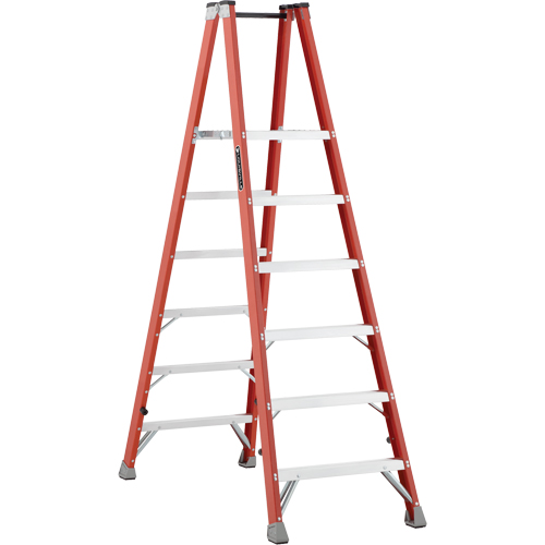 Industrial Heavy-Duty Fibreglass 2-Way Platform Stepladders (FMP1500 Series) VD421 | Ontario Safety Product