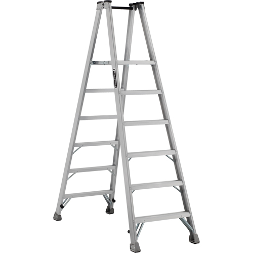 Industrial Heavy-Duty Aluminum 2-Way Platform Stepladders (AMP1500 Series) VD423 | Ontario Safety Product