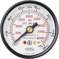 Pressure Gauges 331-2445 | Ontario Safety Product