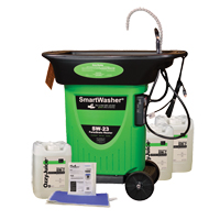 SmartWasher® SW-723 Mobile Parts Washer Kit AF291 | Ontario Safety Product