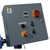 Stationary Drum Roller - Control Panel DC575 | Ontario Safety Product