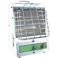 Portable Fan Forced/Radiant Utility Heaters EA466 | Ontario Safety Product