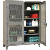 Heavy-Duty Ventilated Storage Cabinets FI329 | Ontario Safety Product
