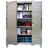 Extra Heavy-Duty Stainless Steel Cabinets FI340 | Ontario Safety Product