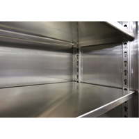 Extra Heavy-Duty Stainless Steel Cabinets - Extra Shelf FI349 | Ontario Safety Product