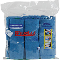 Wypall Microfibre Cloths with Microban®  JC557 | Ontario Safety Product
