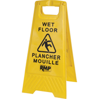 Bilingual Safety Wet Floor Sign JD391 | Ontario Safety Product