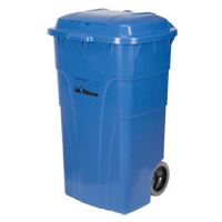 Rollable Recycling & Waste Receptacle JH478 | Ontario Safety Product