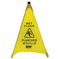 Bilingual Pop-Up Safety Cone JI455 | Ontario Safety Product
