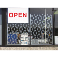 Storefront Window Gates KH876 | Ontario Safety Product