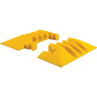 Yellow Jacket® 3-Channel Heavy Duty Cable Protector - End Caps KI187 | Ontario Safety Product