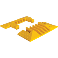 Yellow Jacket® 4-Channel Heavy Duty Cable Protector - End Caps KI192 | Ontario Safety Product