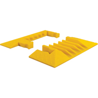 Yellow Jacket® 5-Channel Heavy Duty Cable Protector - End Caps KI206 | Ontario Safety Product