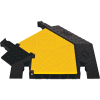 Yellow Jacket® 5-Channel Heavy Duty Cable Protector - Left Turn KI210 | Ontario Safety Product