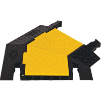 Yellow Jacket® 5-Channel Heavy Duty Cable Protector - Right Turn KI213 | Ontario Safety Product