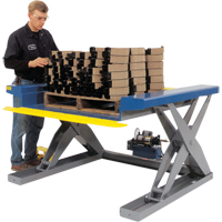 Hydraulic Floor-Height Scissor Lift Tables LT586 | Ontario Safety Product