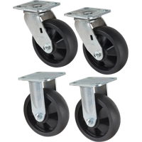 "High Work Maintenance Platforms - Optional 6"" Caster Kits MD338 