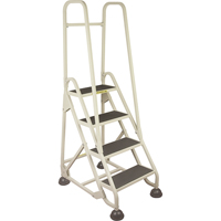 Aluminum Stop-Step Ladders MD627 | Ontario Safety Product