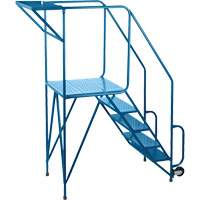 Mechanics/Maintenance Rolling Ladder MH214 | Ontario Safety Product
