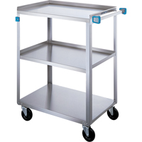 Stainless Steel Shelf Cart MI814 | Ontario Safety Product
