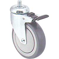 Zinc Plated Caster MI946 | Ontario Safety Product