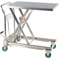 Stainless Steel Hydraulic Scissor Lift Tables MK812 | Ontario Safety Product