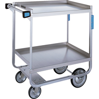 Heavy-Duty Stainless Steel U Frame Carts MK972 | Ontario Safety Product