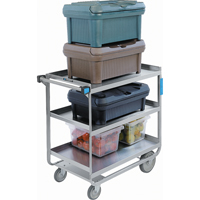 Heavy-Duty Stainless Steel U Frame Carts MK973 | Ontario Safety Product