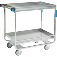 Stainless Steel Guard Rail Carts MK976 | Ontario Safety Product