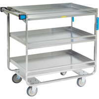 Stainless Steel Guard Rail Carts MK977 | Ontario Safety Product