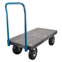 Plastic Platform Truck MN432 | Ontario Safety Product