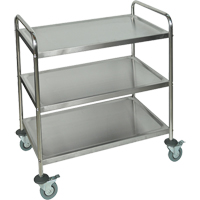 Stainless Steel Shelf Cart MN552 | Ontario Safety Product