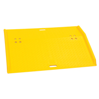 Portable Poly Hand Truck Dock Plate MO111 | Ontario Safety Product