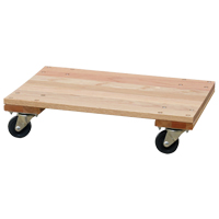 SOLID PLATFORM WOOD DOLLY MO199 | Ontario Safety Product