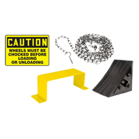 Wheel Chock Kit - English MO244 | Ontario Safety Product
