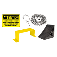 Wheel Chock Kit - French MO245 | Ontario Safety Product