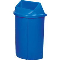 Recycling Containers Half Moon Bullseye™ NC443 | Ontario Safety Product
