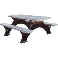 Recycled Plastic Picnic Tables ND422 | Ontario Safety Product