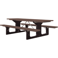 Recycled Plastic Picnic Tables ND427 | Ontario Safety Product