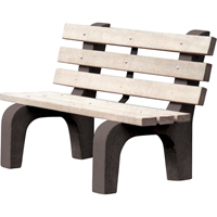 Recycled Plastic Park Benches ND450 | Ontario Safety Product