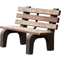 Recycled Plastic Park Benches ND451 | Ontario Safety Product