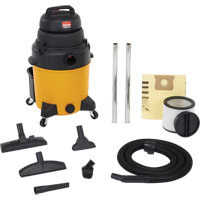 Lightweight Industrial-Duty Wet/Dry Vacuums 6.5 Peak HP Single Stage Motor NI142 | Ontario Safety Product