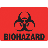 Step Cans - Bio Hazard Decal NI375 | Ontario Safety Product