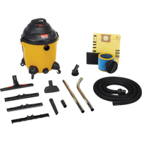 Powerful Industrial 10 US Gallon Wet/Dry Vacuums 2.5 Peak HP NI732 | Ontario Safety Product