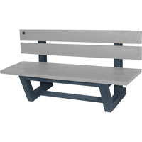 Recycled Plastic Outdoor Park Benches NJ024 | Ontario Safety Product