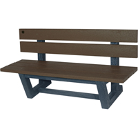 Recycled Plastic Outdoor Park Benches NJ025 | Ontario Safety Product